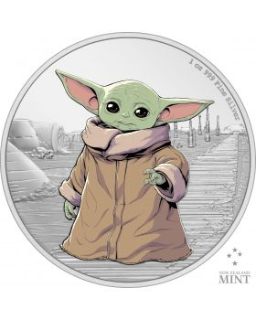 2021 1oz Niue The Child .999 Silver Proof Coin