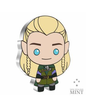 2021 1oz Niue Chibi Collection lord Of The Rings Series - Legolas .999 Silver Proof Coin