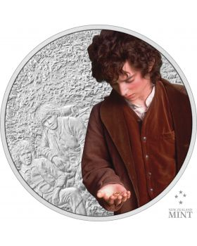 2021 1oz Niue The Lord Of The Ring Classic Series - Frodo Baggins .999 Silver Proof Coin