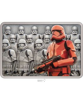 2021 1oz Niue Star Wars: Guards of the Empire -  Sith Trooper .999 Silver Proof Coin