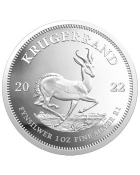 2022 1 oz South Africa Krugerrand .999 Silver Proof Coin