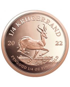 2022 1/4 oz South Africa Krugerrand .9167 Gold Proof Coin