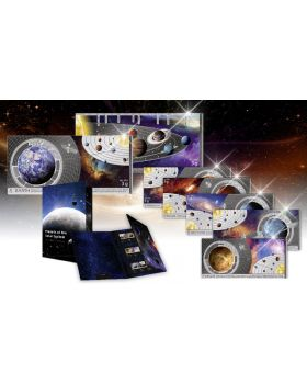 The Planet of the Solar System 999 Silver 8 Note Set