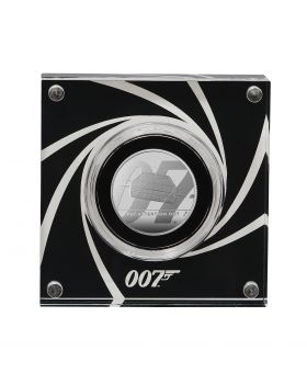 2020 1/2oz Great Britain James Bond 2 Pay Attention 007 .999 Silver Proof Coin