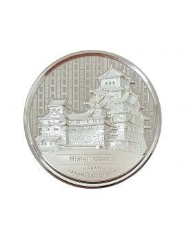 2020 2 oz Cambodia Landmarks of Asia Coin Series - Japan Himeji Castle .999 Silver High Relief Proof Coin