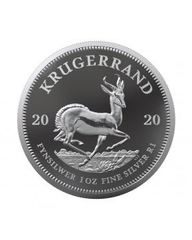 2020 1oz South Africa Krugerrand 999 Silver Proof Coin