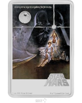 2020 1 oz Niue Star Wars: A New Hope .999 Silver Proof Coin