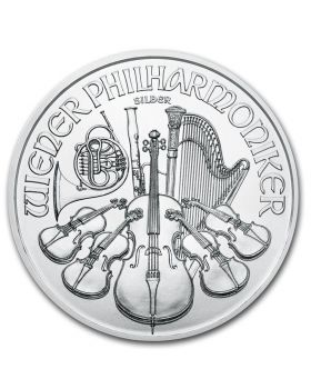 2020 1 oz Austria Philharmonic .999 Silver Coin (Spotted)