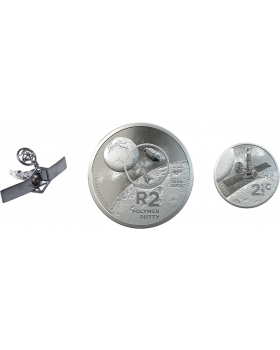 2019 South African Inventions Series - Polymer Putty .925 Silver Proof 2 Coin and Silver Model Set