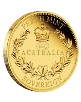 2020 7.988g Perth Australia Sovereign .9167 Gold Proof Coin