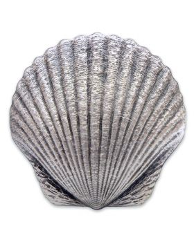 2019 1oz Fiji Castaway Collection Seashell 999 Silver Proof Coin