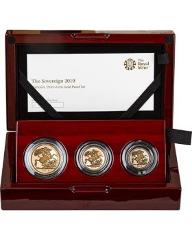 2019 Britain The Sovereign 3 Coin Gold Proof Set