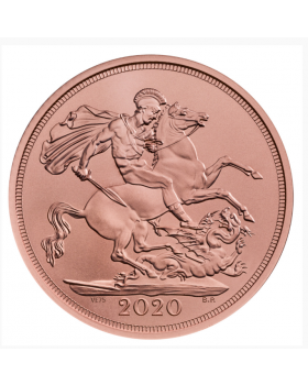 2020 7.98 gram Great Britain The 75th Anniversary of Victory in Europe (VE) Day Sovereign .9167 Gold Coin