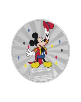 2019 1 oz Niue Disney's Mickey Mouse & Friends Carnival .999 Silver Proof Coin