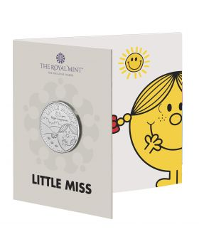 2021 28.28g Great Britain The 50th Anniversary of  Mr Men Little Miss- Little Miss Sunshine Cupro-nickel Coin (Coin 3 )