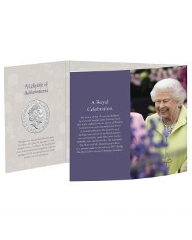 2021 28.28g Great Britain The 95th Birthday of Her Majesty The Queen Cupro-Nickel Coin
