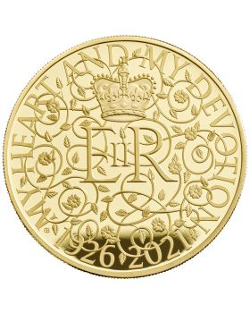 2021 5oz Great Britain The 95th Birthday of Her Majesty The Queen .999 Gold Proof Coin