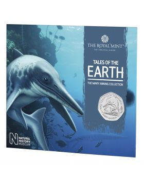 2021 8g Great Britain The Mary Anning Collection- Temnodontosaurus Cupro-Nickel Coin