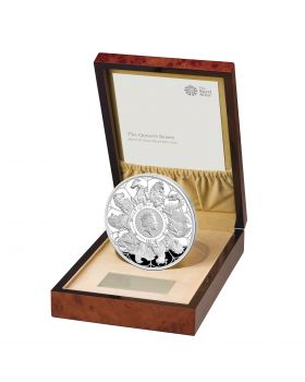 2021 Kilo Great Britain Queen's Beasts Completer .999 Silver Proof Coin