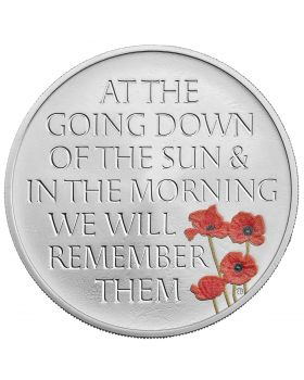 2021 28.28gram Great Britain The Remembrance Day .925 Silver Proof  Coin