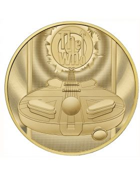 2021 1 Kg Great Britain Music Legends-The Who .9999 Gold Proof Coin