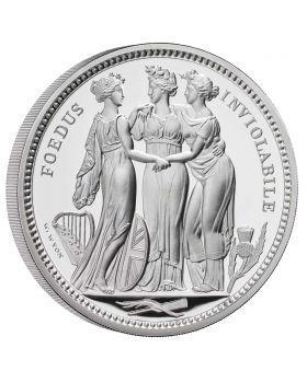 2020 5oz Great Britain The Great Engravers Collection - Three Graces .999 Silver Proof Coin (LPM Exclusive)