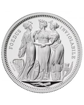 2020 2oz Great Britain The Great Engravers Collection - Three Graces .999 Silver Proof Coin