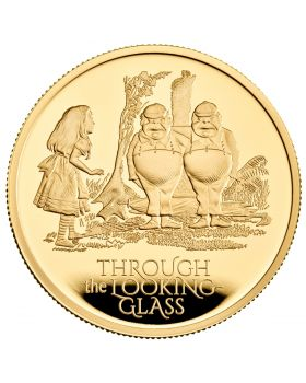 2021 1oz Great Britain Through The Looking Glass.9999 Gold Proof Coin