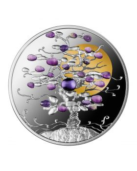 2021 1oz Niue Tree of Luck .999 Silver Proof Coin