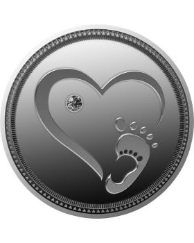 2021 10g Cameroon Welcome to the World .999 Silver Proof Coin