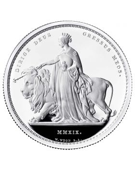 2019 2 Kilo Great Britain The Great Engravers – William Wyon – Una and the Lion 999 Silver Proof Coin