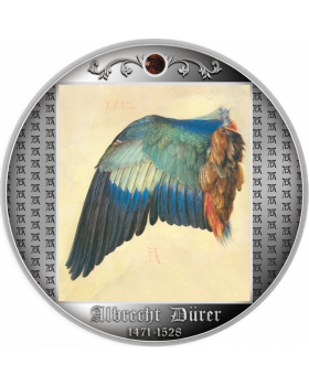 2021 17.5g Cameroon Wing of a European Roller .999 Silver Proof Coin