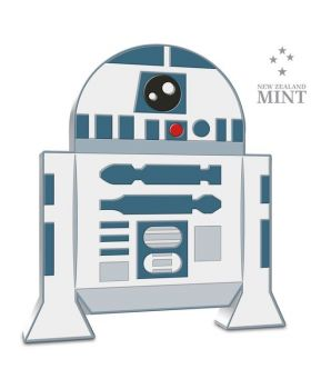 2020 1 oz Niue Chibi Coin Collection Star Wars Series - R2-D2 .999 Silver Proof Coin