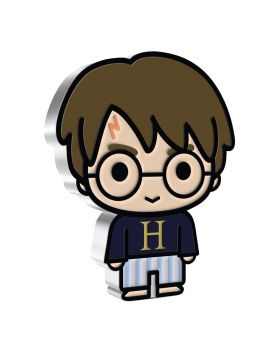 2021 1oz Niue Chibi Coin Collection Harry Potter Series -  Harry Potter in Hogwart Pyjamas .999 Silver Proof Coin