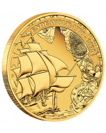 2020 1/4 oz Australia Voyage Of Discovery Endeavour 1770-2020 .9999 Gold Proof Coin