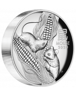 2020 5 oz Australia Lunar Series III Year of the Mouse Silver Proof High Relief Coin