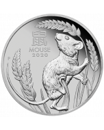 2020 1 oz Australia Year of the Mouse .9995 Platinum Proof Coin