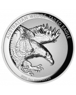 2020 5oz Australia Wedge-tailed Eagle 9999 Silver Proof Incused High Relief Coin
