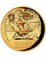 2021 1 oz Australia Winged Victory .9999 Gold Proof High Relief Coin