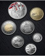 2020 Canada 75th Anniversary of V-E Day : The Royal Canadian Navy Special Edition Silver Dollar Proof Set
