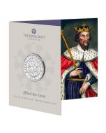 2021 28.28g Great Britain Alfred The Great Cupro-Nickel Coin