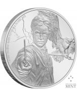 2020 1 oz Niue Harry Potter - Harry Potter .999 Silver Proof Coin