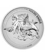 2021 Australia 1oz Wedge-tailed Eagle .9999 Silver Enhanced Reverse Proof High Relief Coin