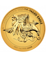 2021 1 oz Australia Wedge-tailed Eagle.9999 Gold Enhanced Reverse Proof High Relief Coin