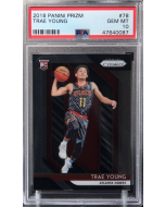 2018 Panini Prizm Trae Young Rookie Card PSA 10