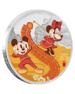 2020 1 oz Niue Disney Year of the Mouse - Prosperity 999 Silver Proof Coin
