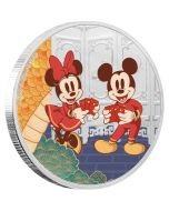2020 1oz Niue Disney Year of the Mouse - Longevity 999 silver coin