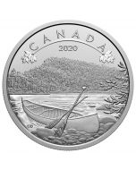 2020 15.87g Canada O Canada ! The Great Outdoors Silver Proof Coin