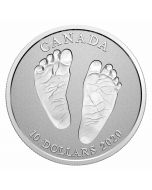 2020 1/2 oz Canada Premium Baby Welcome To The World .9999 Silver Proof Coin