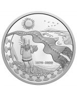 2020 2oz Canada 150th Anniversary Of The Northwest Territories .9999 Silver Proof Coin